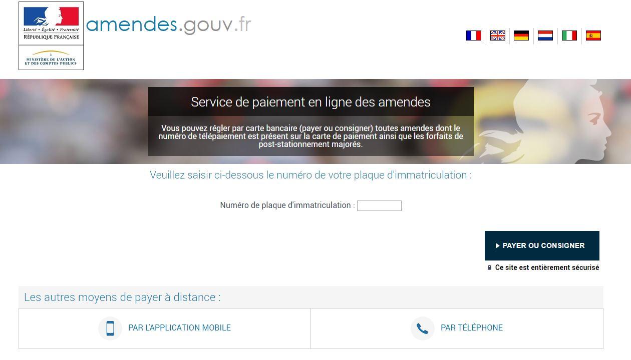 ARNAQUE INTERNET faux site pour le règlement des contraventions